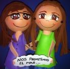 Fofuchas amigas Núria y Miriam