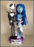 Jack Skeleton y Novia Cadáver 1